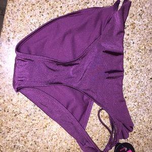 bikini bottoms ( purple ) new w tags